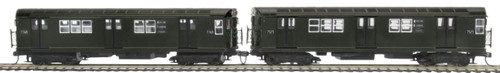 MTH HO 80-2378-3 R-22 2-Car Subway Add-On Non Powered Set, Metropolitan Transportation Authority (South Bound)