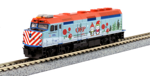 Kato N 106-2017 Operation North Pole 6-Unit Christmas Train Set