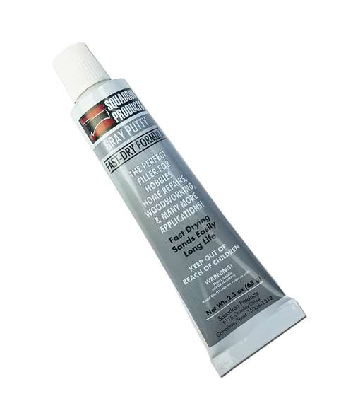 Squadron 20202C Gray Putty, 2.3 Oz. (Carded)