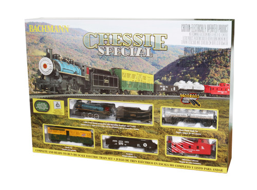 Bachmann HO 00750 Chessie Special Train Set