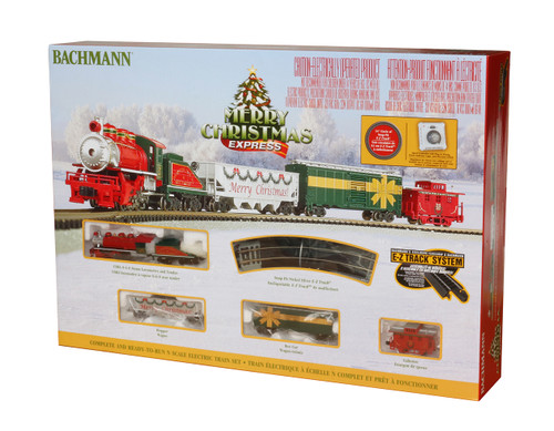 Bachmann N 24027 Merry Christmas Express Train Set