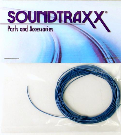 SoundTraxx 810148 10' 30AWG Ultra-Flexible Wire, Blue
