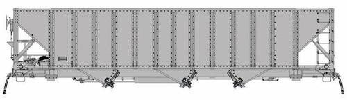 "Arrowhead Models HO ARR-1000-01 ""Committee Design"" Hopper Kit, Undecorated (PRR Configuration)"