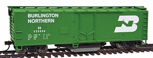 Walthers Trainline HO 931-1753 40' Track Cleaning Box Car, Burlington Northern #329808