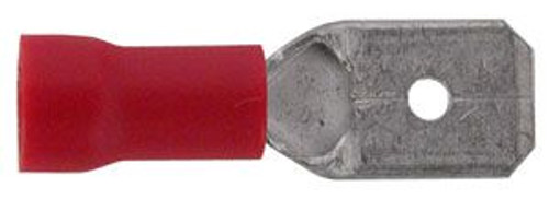 "A.E. Corporation 2125 1/4"" Quick Connect Male, Red (10)"
