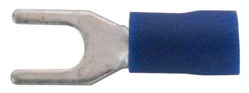 A.E. Corporation 9208 #8 Spade Terminal, Blue (10)