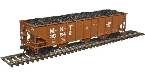 Atlas Trainman HO 20004897 70-Ton 3-Bay Open Hopper Standard End, Missouri-Kansas-Texas #35542