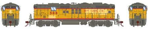Athearn Genesis HO G64241 GP9, Iowa Interstate #300 (DCC and Sound Equipped)