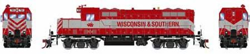 Athearn Genesis HO G65044 GP7u, Wisconsin and Southern #701