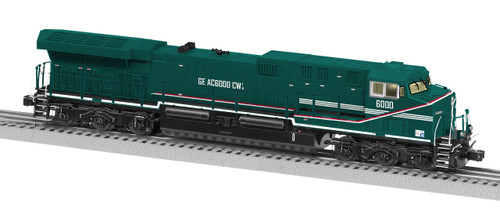 Lionel O 6-84843 Legacy GE AC6000, GE Demonstrator #6000