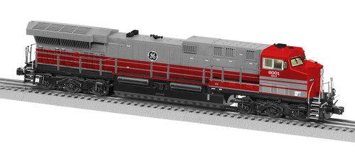 Lionel O 6-84844 Legacy GE AC6000, GE Demonstrator #6001