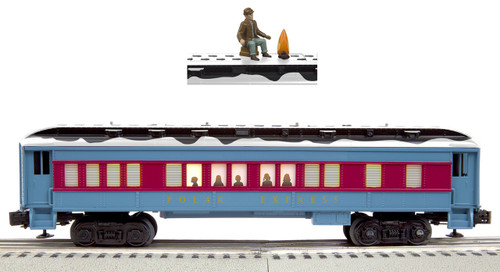Lionel O 6-84602 Disappearing Hobo Car, Polar Express