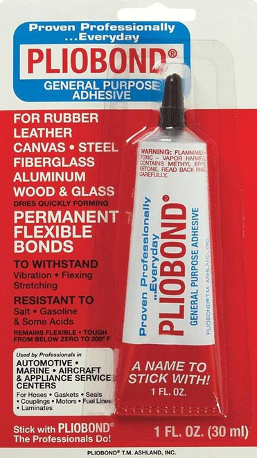 Pliobond 50004 (49-102) General Purpose Adhesive (1 Fl. Oz. Tube)