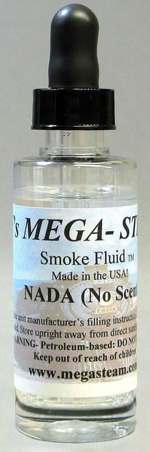 JT's Mega Steam O/HO NADA Smoke Fluid 2 Oz. Bottle, Nada (No Scent)