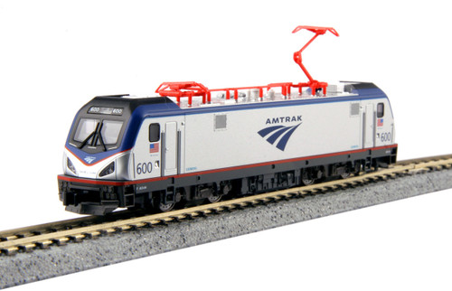 "Kato N 1373001-DCC Siemens ACS-64, Amtrak ""David L. Gunn"" #600 (Kobo Shops Exclusive with DCC Decoder Installed)"