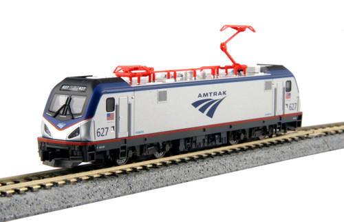 Kato N 1373002-DCC Siemens ACS-64, Amtrak #627 (Kobo Shops Exclusive with DCC Decoder Installed)