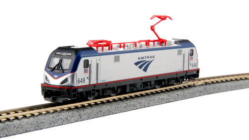 Kato N 1373003-DCC Siemens ACS-64, Amtrak #648 (Kobo Shops Exclusive with DCC Decoder Installed)