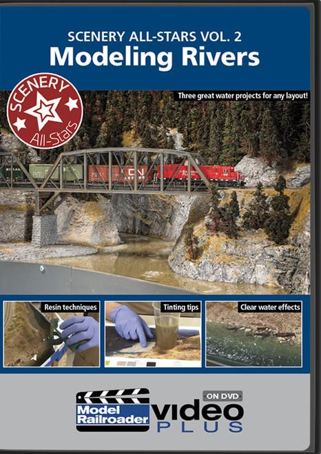 Kalmbach Publishing DVD 15350 Scenery All-Stars Vol. 2: Modeling Rivers