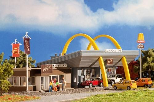 Vollmer HO 43635 McDonald's Restaurant Kit with McCafe