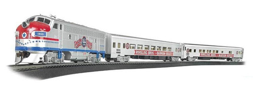Bachmann HO 00749 Ringling Bros. and Barnum & Bailey Greatest Show on Earth Special Train Set
