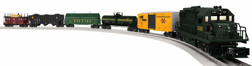 Lionel O 6-82436 Lionchief Deluxe GP38 Remote Freight Set, Pennsylvania Keystone (Hobby Shop Exclusive Set)