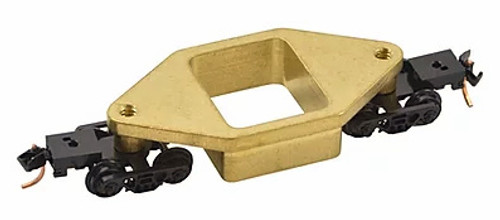 Centerline Products N 60025 N2 Brass Rail Cleaner with Micro-Trains Trucks