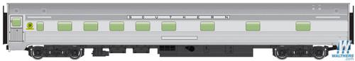 Walthers Mainline HO 910-30111 85' Budd 10-6 Sleeper Car, Southern Railway