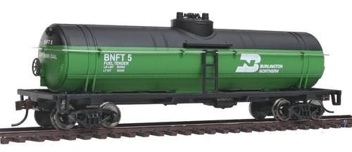 Walthers Trainline HO 931-1440 Tank Car, Burlington Northern (Fuel Tender) #BNFT5