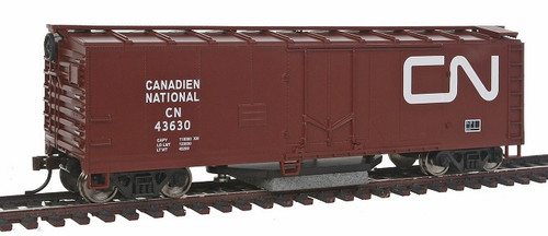 Walthers Trainline HO 931-1481 Track Cleaning Box Car, Canadian National #43630