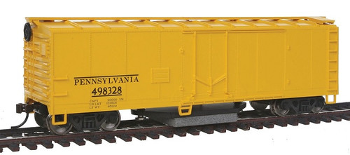 Walthers Trainline HO 931-1483 Track Cleaning Box Car, Pennsylvania Railroad #498328