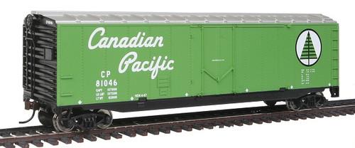 Walthers Trainline HO 931-1673 50' Plug Door Box Car, Canadian Pacific #81046