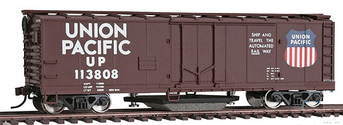 Walthers Trainline HO 931-1756 40' Track Cleaning Box Car, Union Pacific #113808