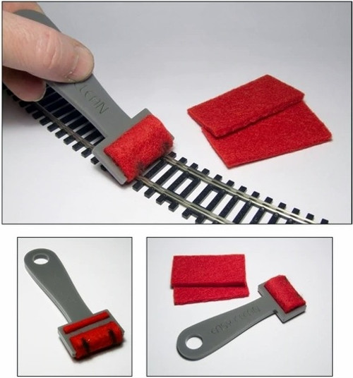 Proses by Bachmann 39013 (TC-001) Track Cleaner with 2 Additional Felts Included