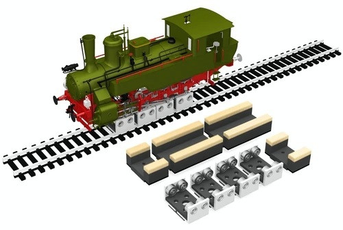 Proses by Bachmann HO 39023 (RR-HO-04) Rollers and Drive Wheel Cleaners