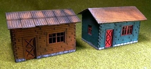 Proses by Bachmann HO 39101 (LS-004) Cottage Kits (2)