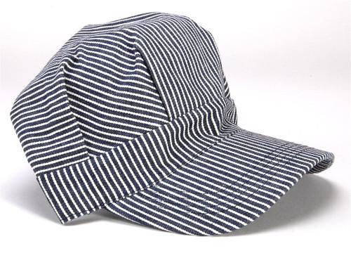 Brooklyn Peddler 00055 Engineer Train Hat, Child (Elastic Back Blue)