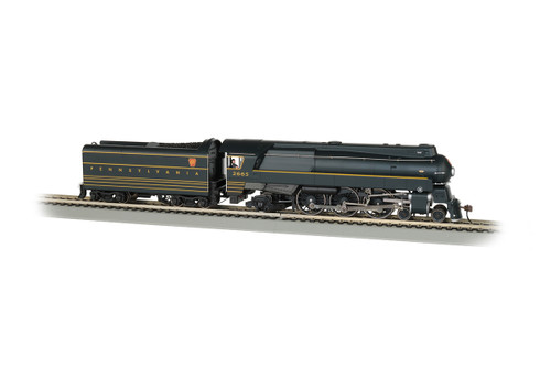 Bachmann HO 85302 Streamlined K4 4-6-2 Steam Engine, Pennsylvania Railroad #2665 (Equipped with DCC WOWSound)