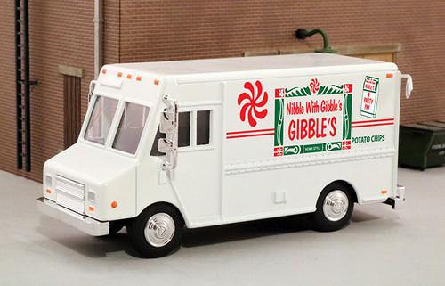 American Heritage Models O 48040 Delivery Step Van, Gibbles Potato Chips