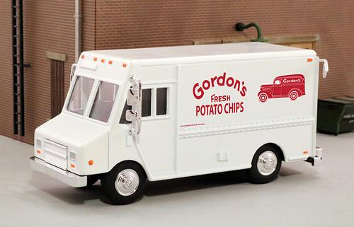 American Heritage Models O 48043 Delivery Step Van, Gordons Potato Chips