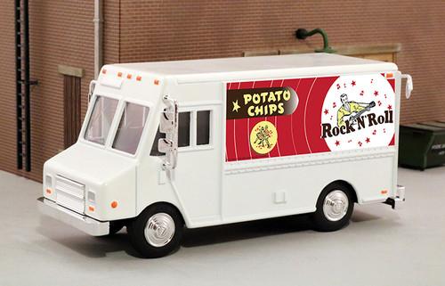 American Heritage Models O 48072 Delivery Step Van, Rock N Roll Potato Chips