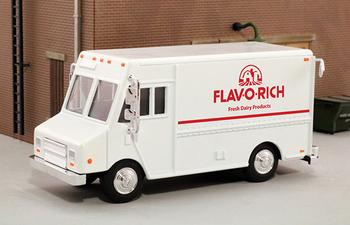 American Heritage Models O 48022 Delivery Step Van, Flav O Rich Dairy