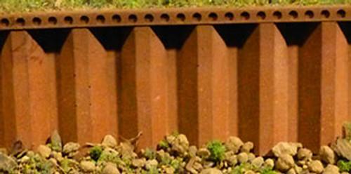 Chooch HO/O 8516 Flexible Steel Sea Wall, Large
