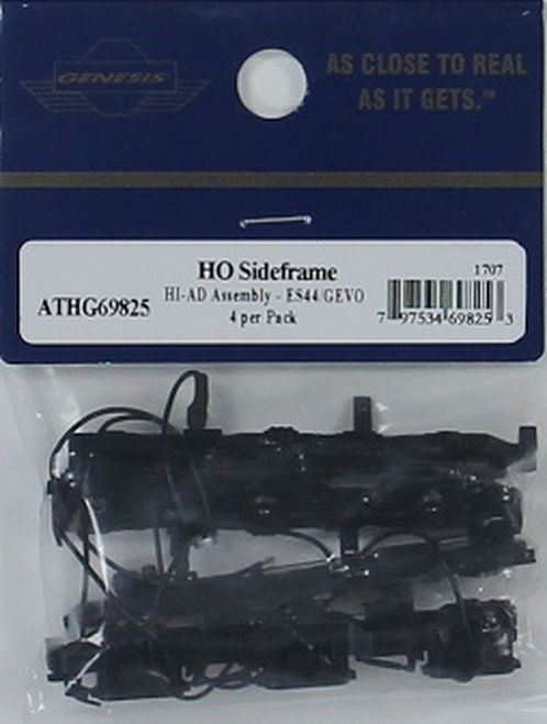 Athearn Genesis HO G69825 Sideframe Sets with HI-AD Assembly for ES44/GEVO (4)
