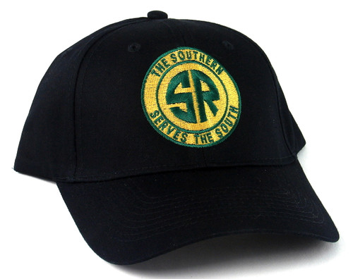 "Nissin Black Embroidered Adjustable Hat, Southern ""The Southern Serves the South"" Logo"