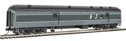 Walthers Proto HO 920-17408 70' Heavyweight Railway Post Office Baggage Car with Arch Roof, Southern Pacific