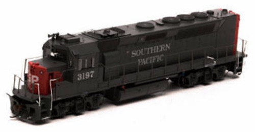 Athearn Genesis HO G63780 GP40P-2, Southern Pacific #3197 (DCC and Sound Equipped)