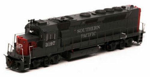 Athearn Genesis HO G63781 GP40-2, Southern Pacific #7600 (DCC and Sound Equipped)