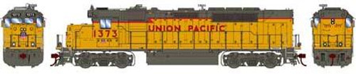 Athearn Genesis HO G63784 GP40-2, Union Pacific #1373 (DCC and Sound Equipped)