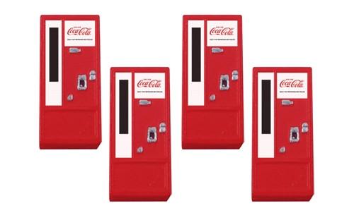 Classic Metal Works HO 20228 1950s Era Vending Machine, Coca