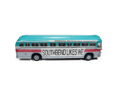 Classic Metal Works HO 32314 GM PD-4103 Intercity Bus, Eisenhower Campaign